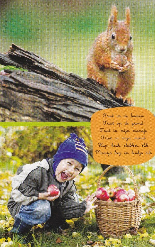 Versje thema fruit