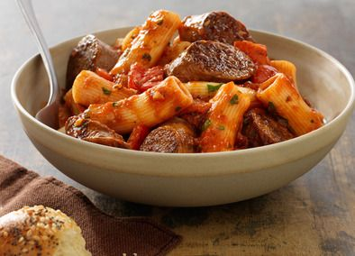 Johnsonville Italian Sausage Rigatoni recipe