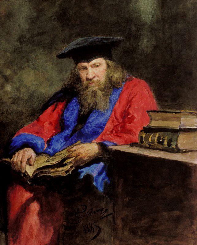 Ο Dmitry Mendeleev (1885)