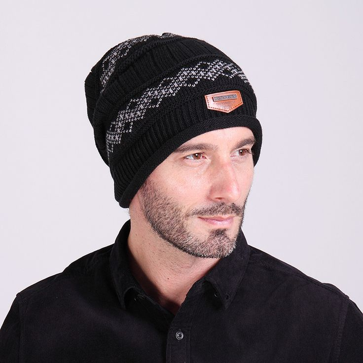 $5.01 (Buy here: https://alitems.com/g/1e8d114494ebda23ff8b16525dc3e8/?i=5&ulp=https%3A%2F%2Fwww.aliexpress.com%2Fitem%2FNew-Fashion-Autumn-Winter-Women-And-Men-Knitted-Wool-Hat-Increase-Villus-Line-Set-Head-Men%2F32740349705.html ) 2016 Brand Beanies Knit Men's Winter Hat Caps Skullies Bonnet Winter Hats For Men Women Beanie Fur Warm Baggy Wool Knitted Hat for just $5.01