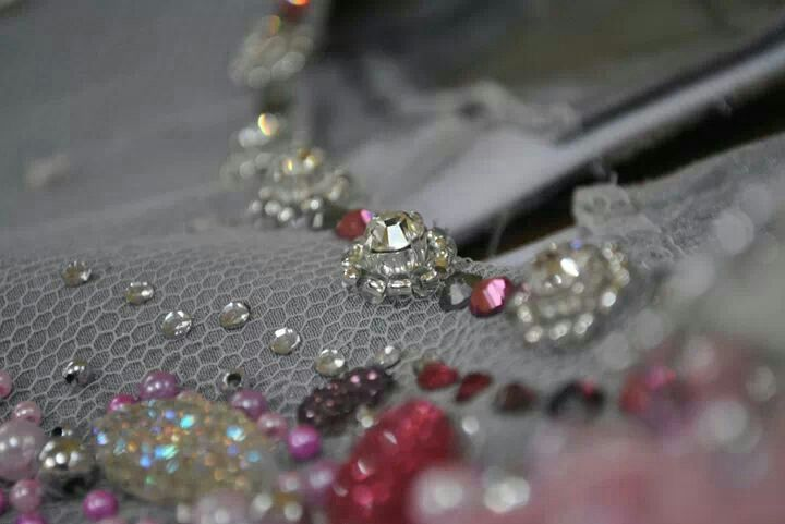 Swarovski in the house Beading is my work