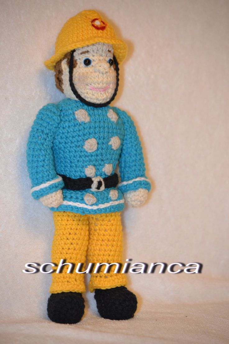 Fireman Sam crochet