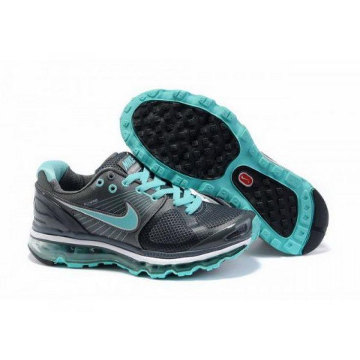 Nike Air Max 2010 Black Cyan D10007