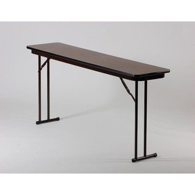 Off set leg folding seminar tables size 18 x 72 by for 52 folding table