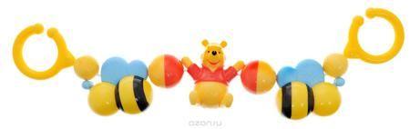 """Disney Baby Погремушка-подвеска Винни Пух  — 415р. ------------- Погремушка-подвеска Disney Baby """"Винни Пух"""" изготовлена из прочного безопасного материала с использованием пищевых красителей и прошла тщательный контроль качества. Погремушка предназначена для самых маленьких, способствует развитию слуха и зрения. Яркие цвета привлекают внимание. Погремушка развивает осязание, мелкую моторику и координацию движений. Погремушка-подвеска Disney Baby """"Винни Пух"""" содержит подвижные элементы и…"""