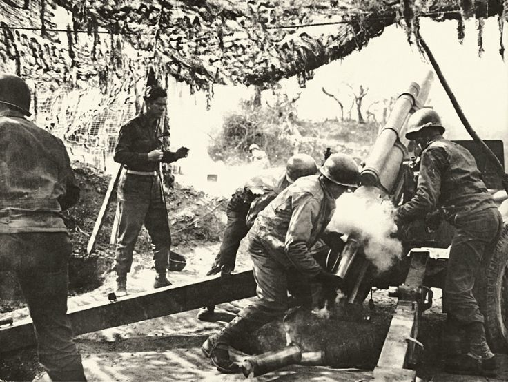 Brazilian soldiers on Italy (1945)