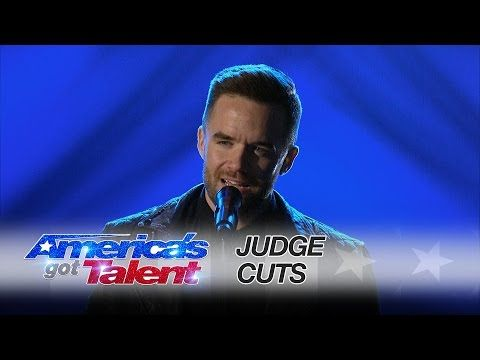 Brian Justin Crum: Singer Captivates the Audience With Radiohead Cover - America's Got Talent 2016 - YouTube