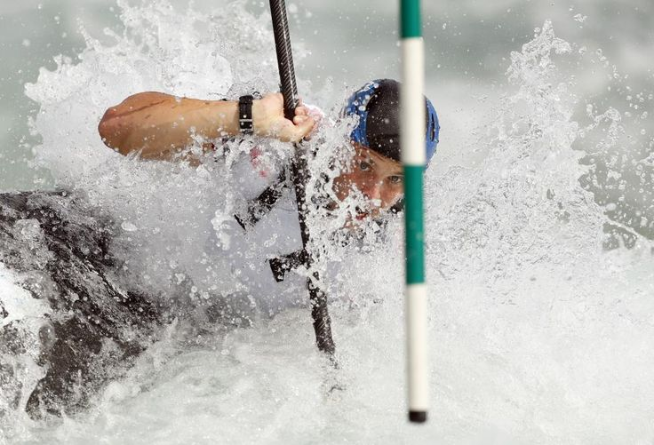 Reuters / Wednesday, July 20, 2016 Britain's Joe Clarke in action during the Canoe Slalom race simulation. Action Images via Reuters / John Sibley Livepic