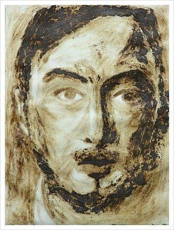 Coffee Man. 2013. 54 x 70cm. Mixed Media on Paper.