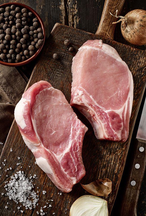 Raw meat on Behance