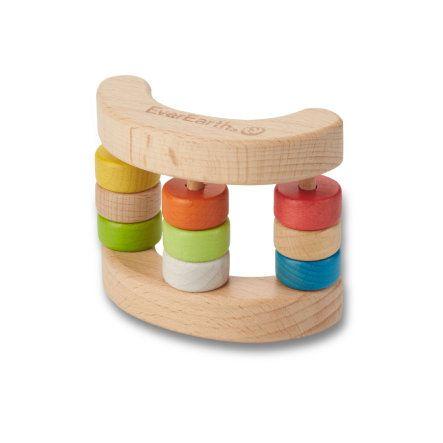 EverEarth® Rassel-Spielzeug Wippe bei babymarkt.de - Ab 20 € versandkostenfrei ✓ Schnelle Lieferung ✓ Jetzt bequem online kaufen!