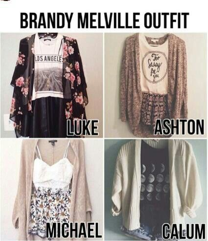"omg wow I just sat here for 5 minutes thinking ""why on earth would they ever wear brandy Melville?"" Then I realized what it meant and was like ""oh.... I like michael's"""