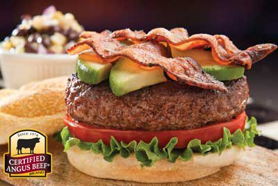 Avocado Bacon Burger recipe provided by the Certified Angus Beef® brand.