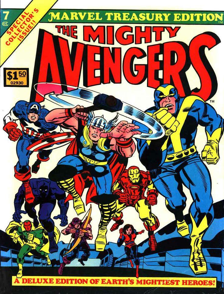 Fabulous vintage avengers marvel comic books