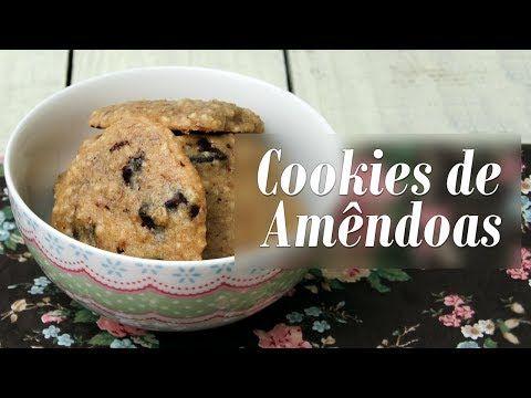 Como fazer Cookies de Amêndoas (com Resíduos do Leite de Amêndoas) - YouTube