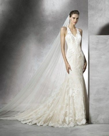Pronovias Wedding Dresses - Style Temis