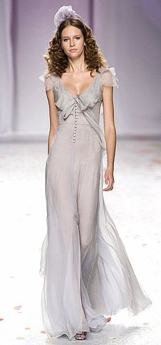 love the whispeyness of this dress for Jessel