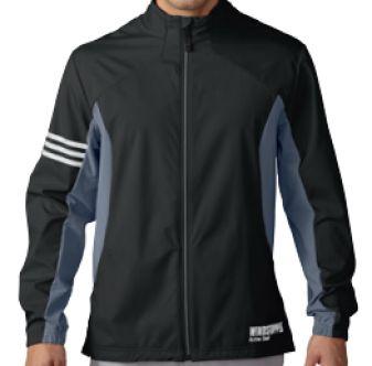 Chaqueta Cortavientos Adidas Gore-Tex Windstopper. Con un llamativo diseño de líneas geométricas y pulcras, esta chaqueta de golf para hombre te ofrece un look muy actual para el green.