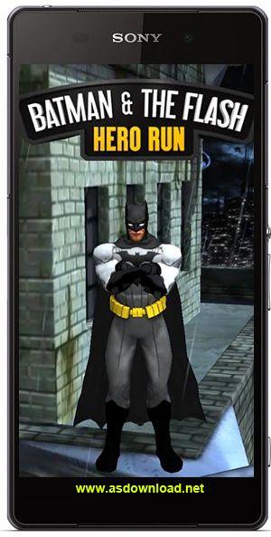 Batman & the Flash: Hero run-بازی بتمن برای آندروید