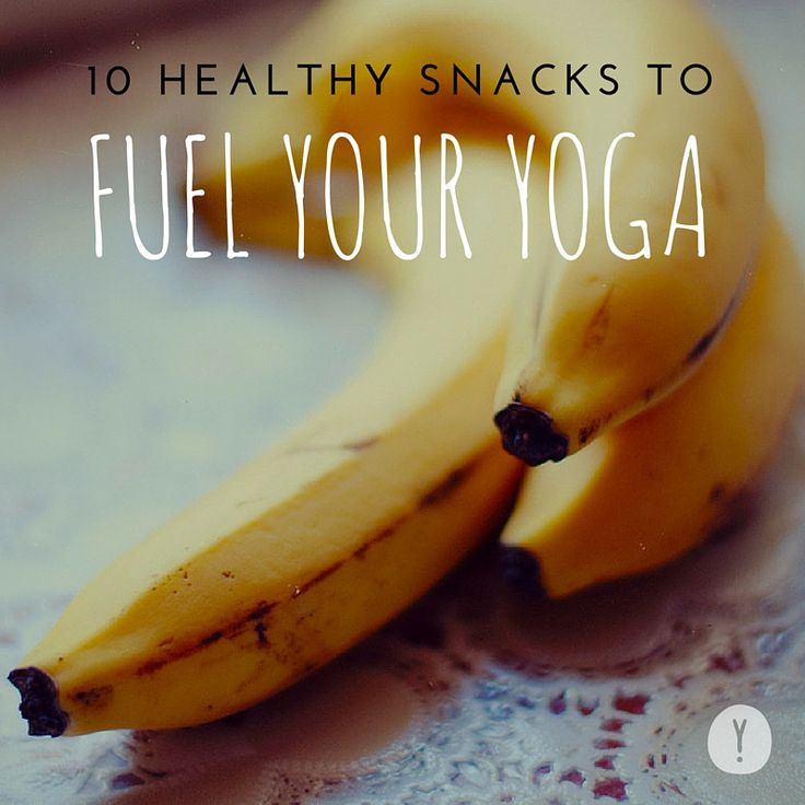 Eating the wrong thing before you plan on doing a lot of body movement can result in a pretty unpleasant experience. To fuel your yoga the right way, choose some of these small snacks that offer a good balance of carbs, protein and fiber. Here's 10 of our pre-yoga snacks: - Nuts - Bananas - Smoothies - Whole Grain Toast - Oatmeal - Plain Greek Yogurt - Dark Chocolate - Dried Fruit - Veggies and Hummus - Water! Excerpt from our #yogisjournal