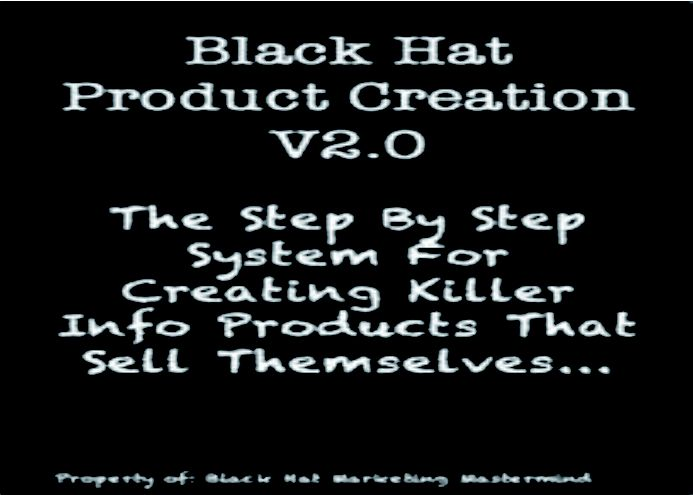 riulaki: give you Black Hat Product Creation latest version for $5, on fiverr.com