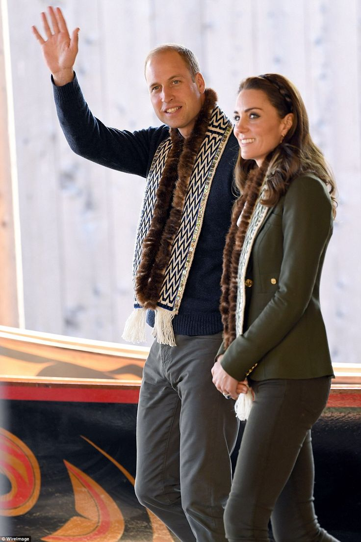 The busy day has seen William and Kate treated to a cultural performance, a fishing trip and a tour of the island