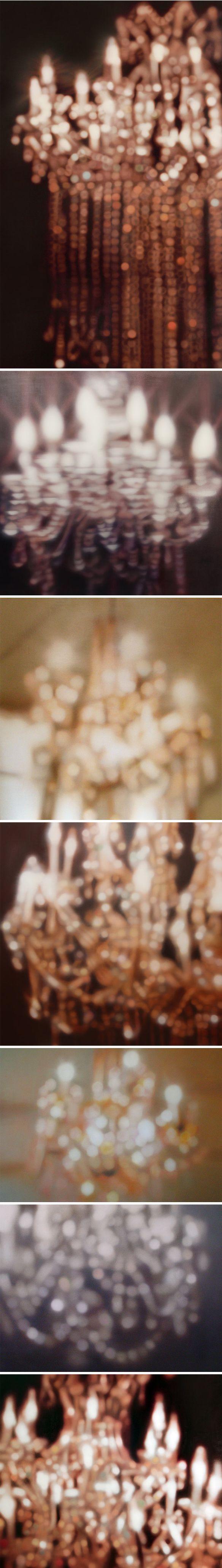 oil paintings by laura wood #chandelier