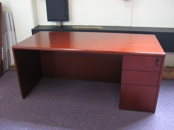 Cherry Wood Office Desk