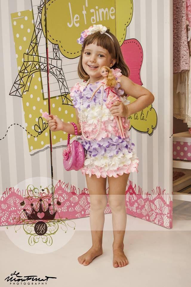 All over flower!!!!W&B Petal Flower Dress!!!