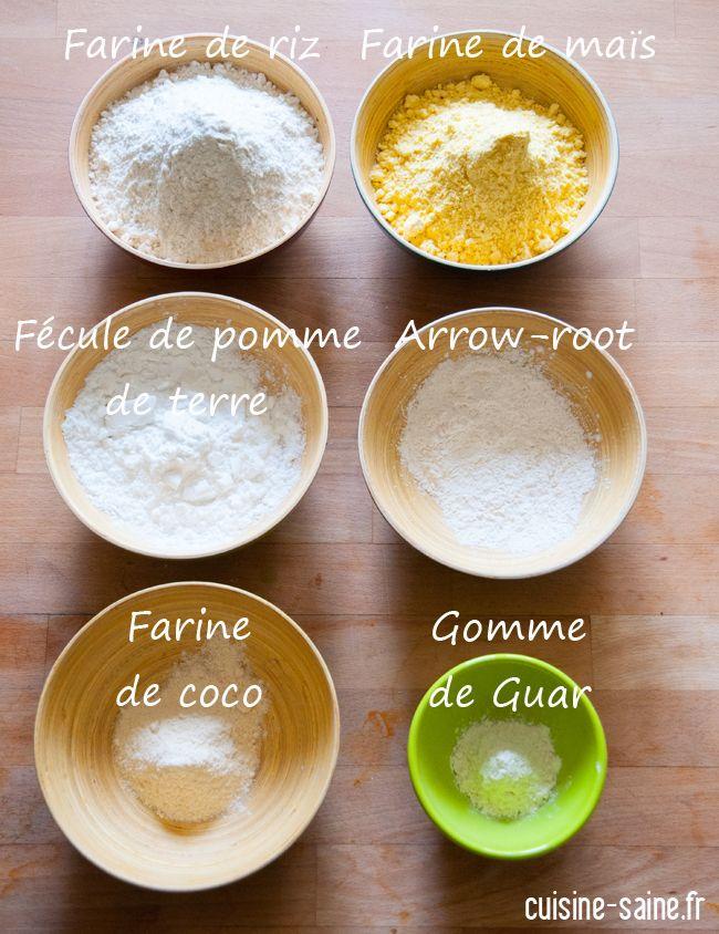 Mon mix pâtisserie maison / mélange de farines sans gluten