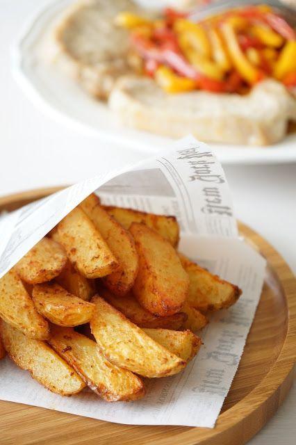 Potatoes au paprika au four