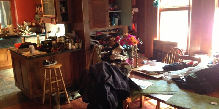 My House Is Messy -- and I Don't Care