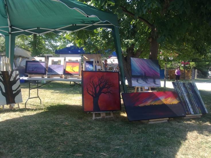 Art in the Park, Markham - Anna Whitmore Original Artwork