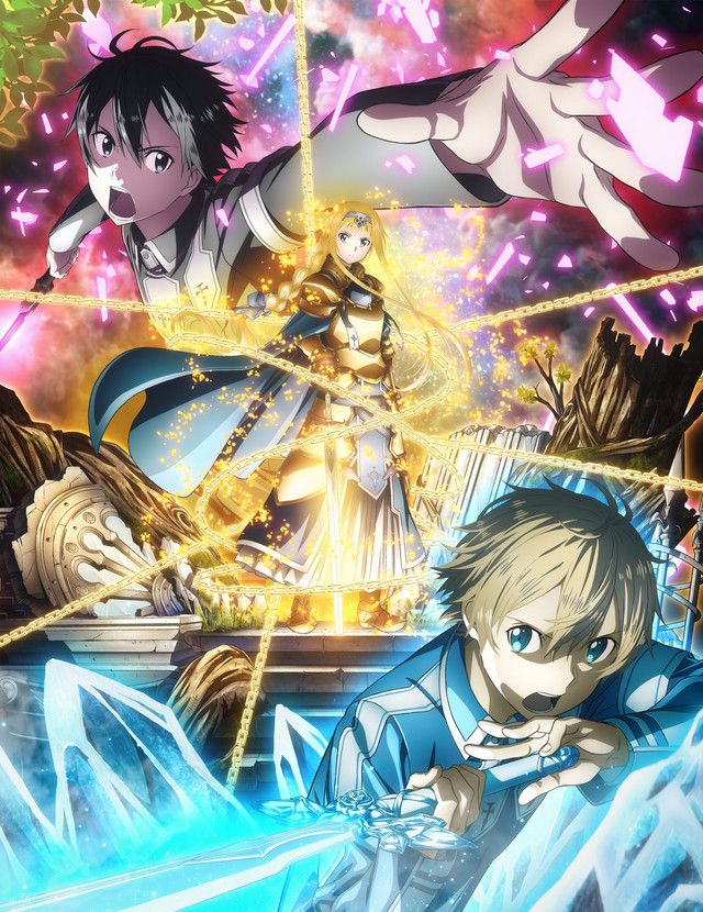 Sao Ordinal Scale Vostfr : ordinal, scale, vostfr, Sword, Online:, Alicization, Anime, Faces, Fresh, Dangers, Promo, [UPDATED], Online, Season,, Wallpaper