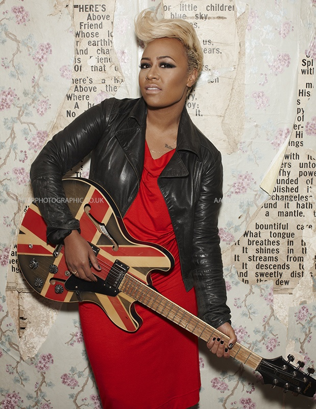 Emeli Sande. amazing voice. love this guitar so much!!!!