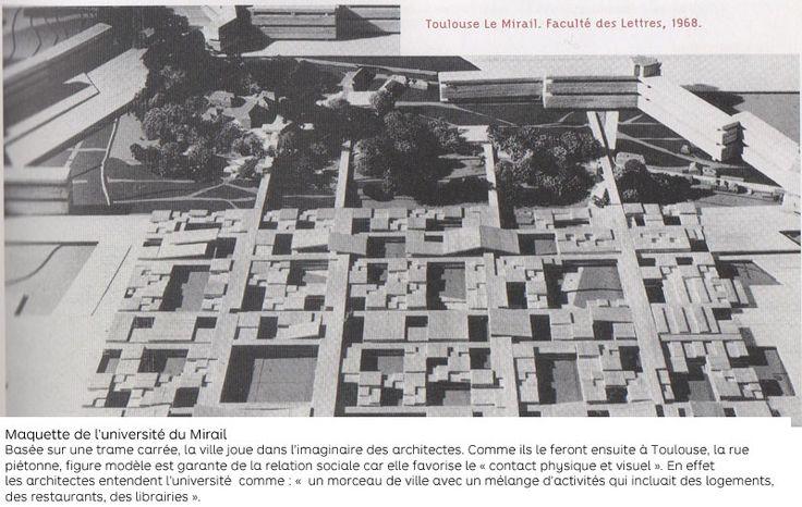 Des architectes utopistes ‹ Les 40 Mirail