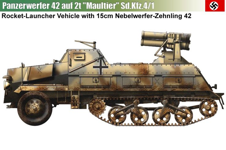 Sd.Kfz.4/1 15cm Panzerwerfer 42 auf Maultier