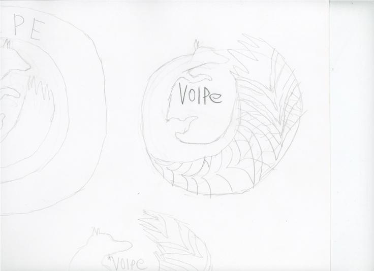 Second Volpe logo design.