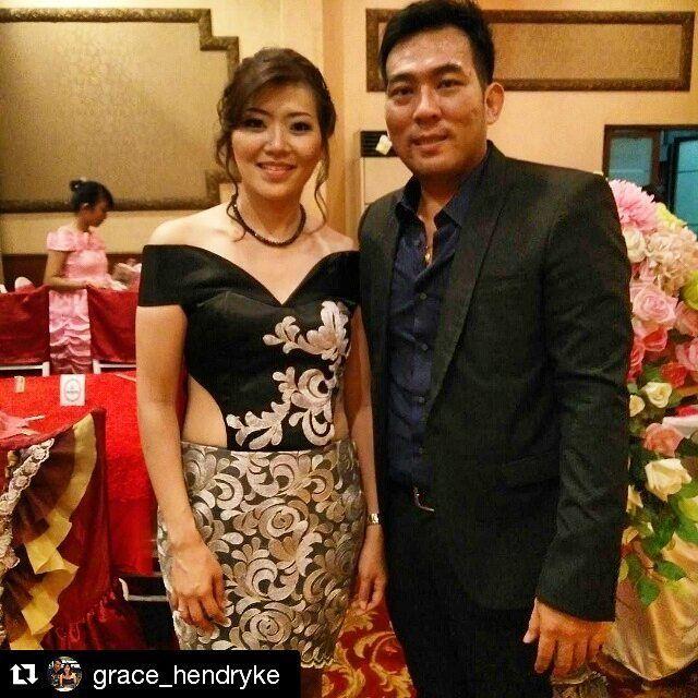 pretty ms.grace wearing our sabrina lace applicated  bustier with embroidered silver prada lace ... ♥♥♥ // 744EBCAD - goju.id (LINE) // #ootdindo #ootdindo #ootd #vsco #madetoorder #customsize #preweddinggown #bridesmaids #bridesmaiddress  #Repost @grace_hendryke with @repostapp ・・・ Titi n Yani wedding #latepost#hubby#love