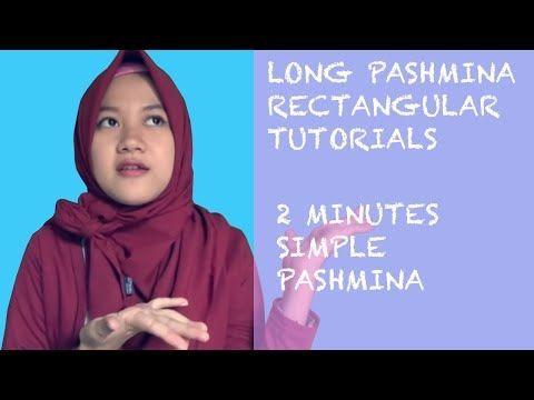 Easy Hijab Tutorials Style Of Pashmina For Daily Office - YouTube