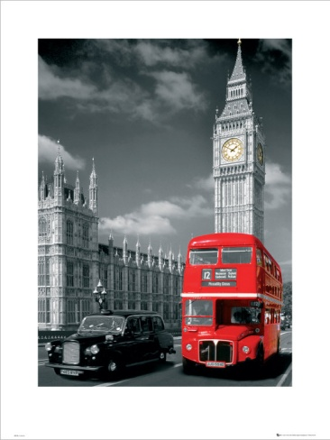 Double-Decker Bus, Piccadilly Circus