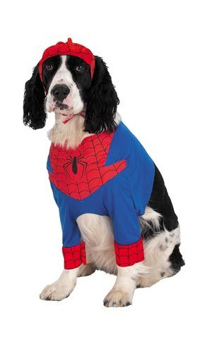 Spider-Man Dog Costume - Authentic Spiderman Costume for Dogs