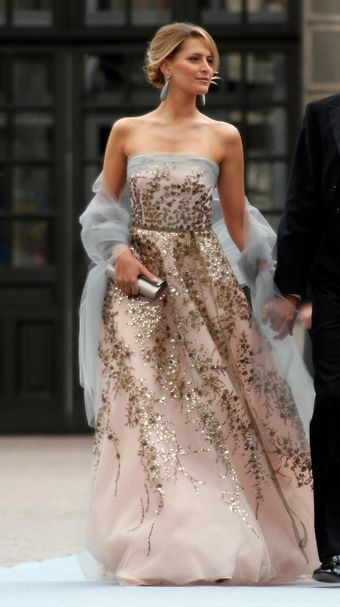 Princess Tatiana of Greece...Carolina Herrera