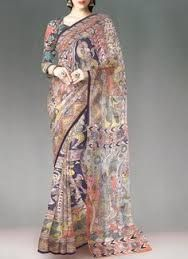 Image result for kalamkari saree
