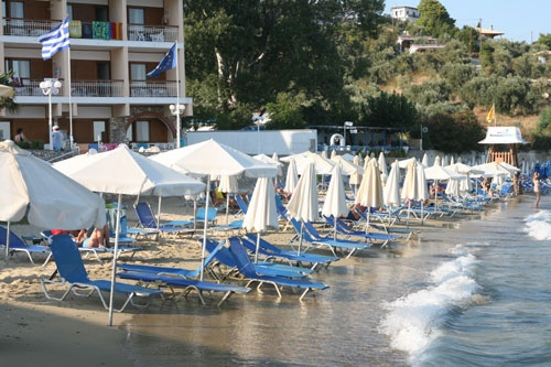 Hotel Esperides - Skiathos - 6th Greek island stay - One of the so-called Mamma Mia Islands.