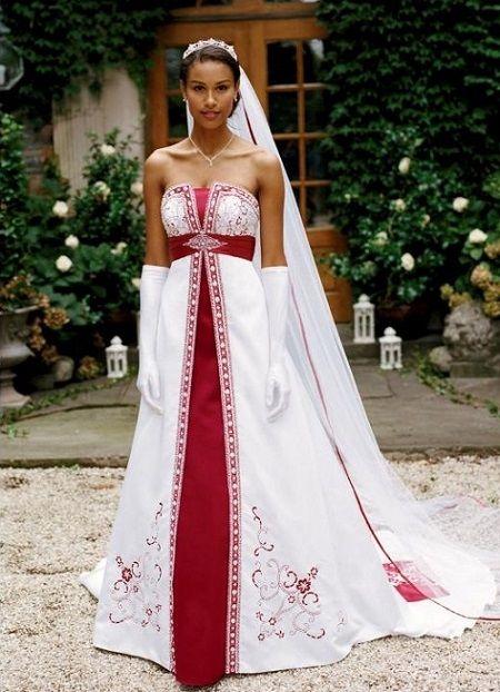 17 best ideas about robe de mari e rouge et blanche on. Black Bedroom Furniture Sets. Home Design Ideas