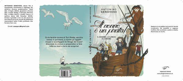 IL NONNO E\' UN PIRATA di Antonino Genovese - IN LIBRERIA!