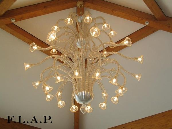 Murano Chandeliers by F.L.A.P. , via Behance
