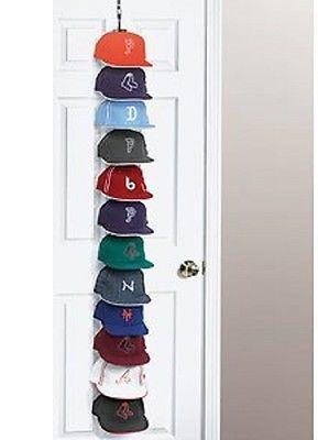 Cap Holder Baseball Rack Hat Storage Organizer Caprack Door New Closet Hanger