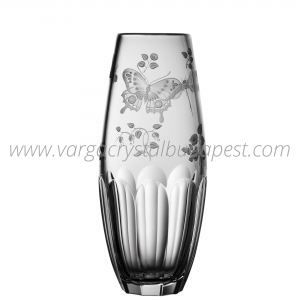 Springtime Clear Barrel Vase 198€